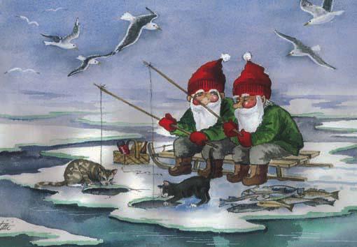 fiskenisser